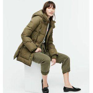J. Crew Women's Chateau Puffer jacket Size XS